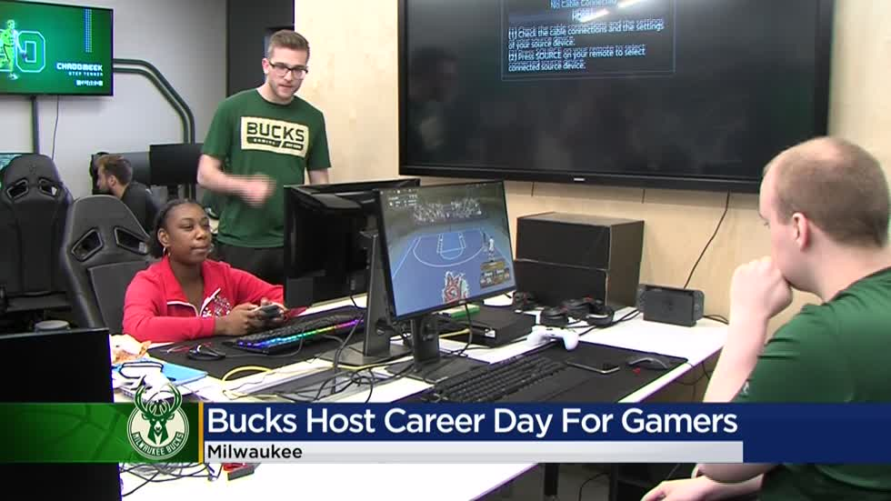 Bucks Gaming hosts career day with Boys & Girls Club
