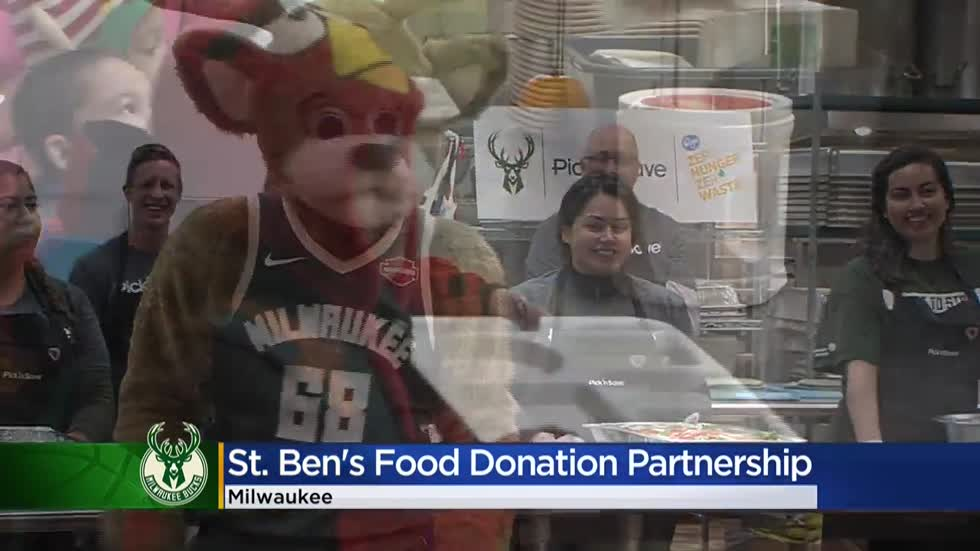 Bucks partner with Pick 'N Save to donate more than $50K of food