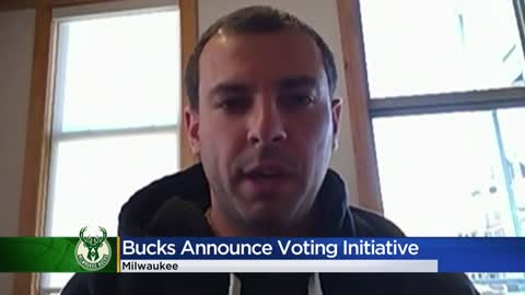Milwaukee Bucks launch voting initiative ahead of November election