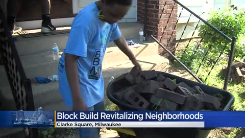 Block Build MKE kicks off revitalization project in Clarke Square...