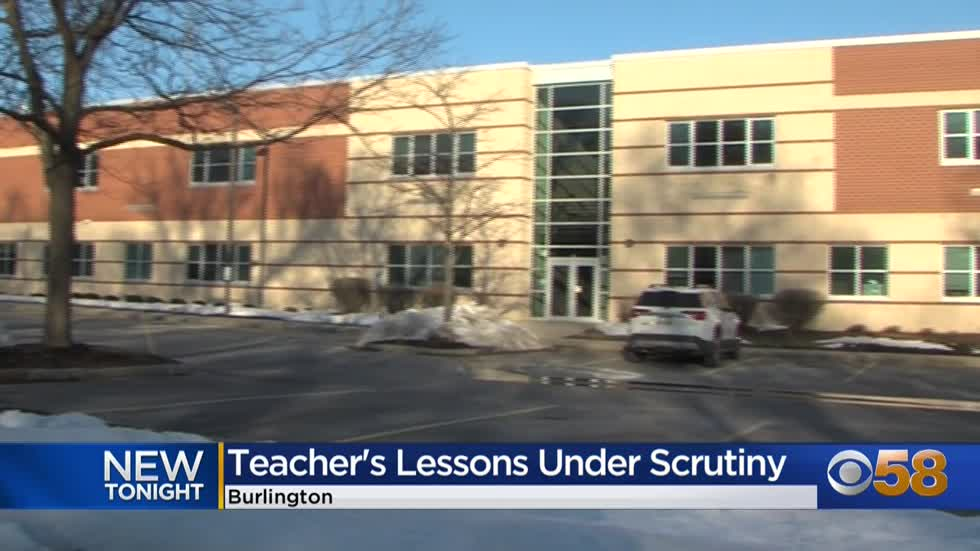 Investigation into Burlington HS teacher's controversial lesson...