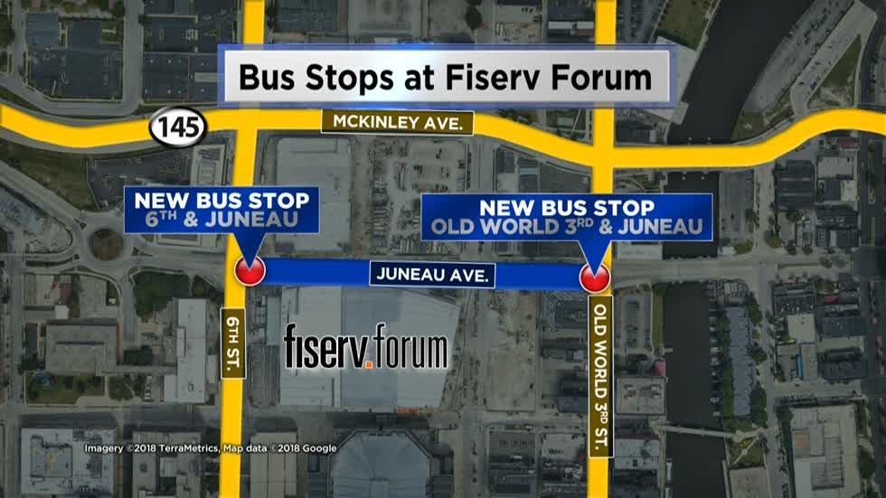 Route 33: New MCTS bus route will offer service to Fiserv Forum