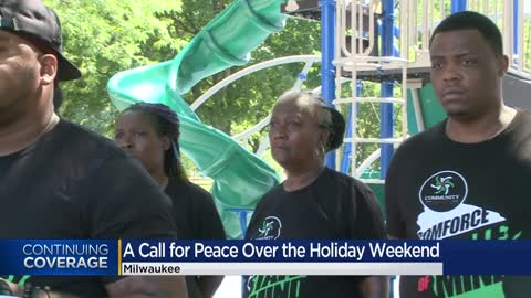 Milwaukee community activists offer resources to prevent violence over holiday weekend