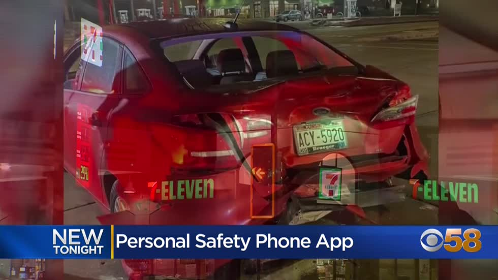 Safety feature on woman's phone dials 911 after driver slammed...