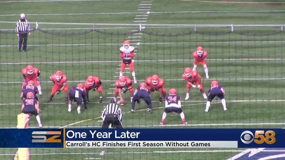 Carroll University football coach finishes unique first year in charge