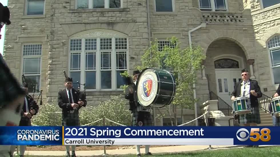 Carroll University holds in-person commencement; Pardeep Kaleka...