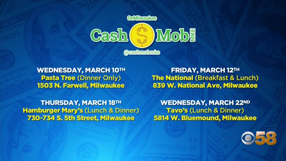Cash Mob MKE aims to help struggling local restaurants