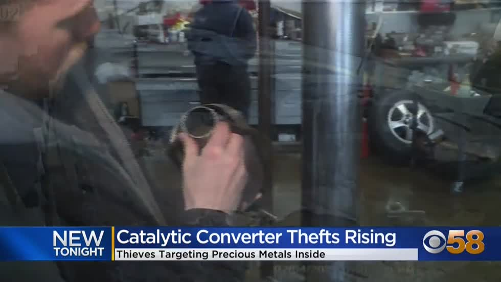 Catalytic converter thefts increasing as precious metals prices spike