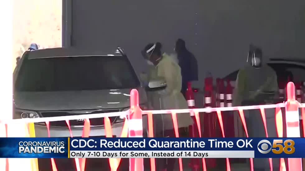 CDC says 14-day Covid-19 quarantine can be shortened to 7 to...