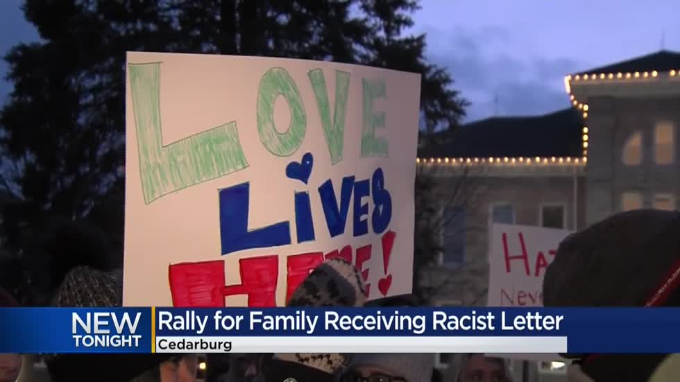 Community rallies to support Cedarburg family who says they received racist letter