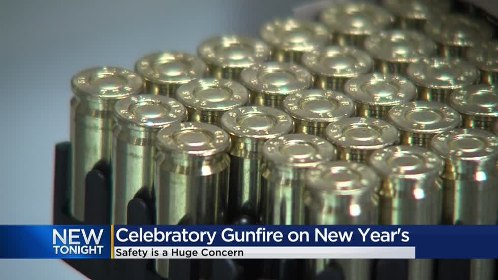 Flying bullets from New Year's celebratory gunfire can cause serious damage