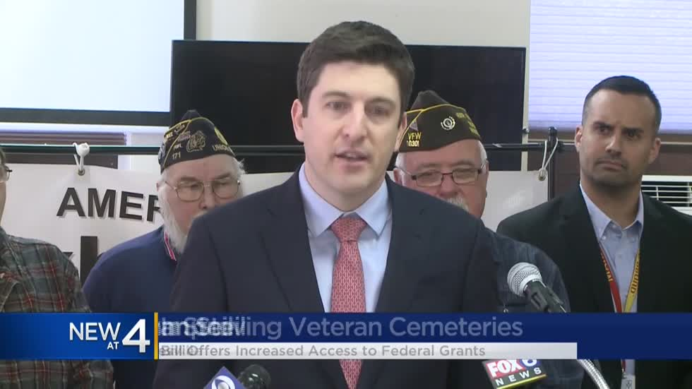 New bill would double federal grants available to state-run veteran cemeteries