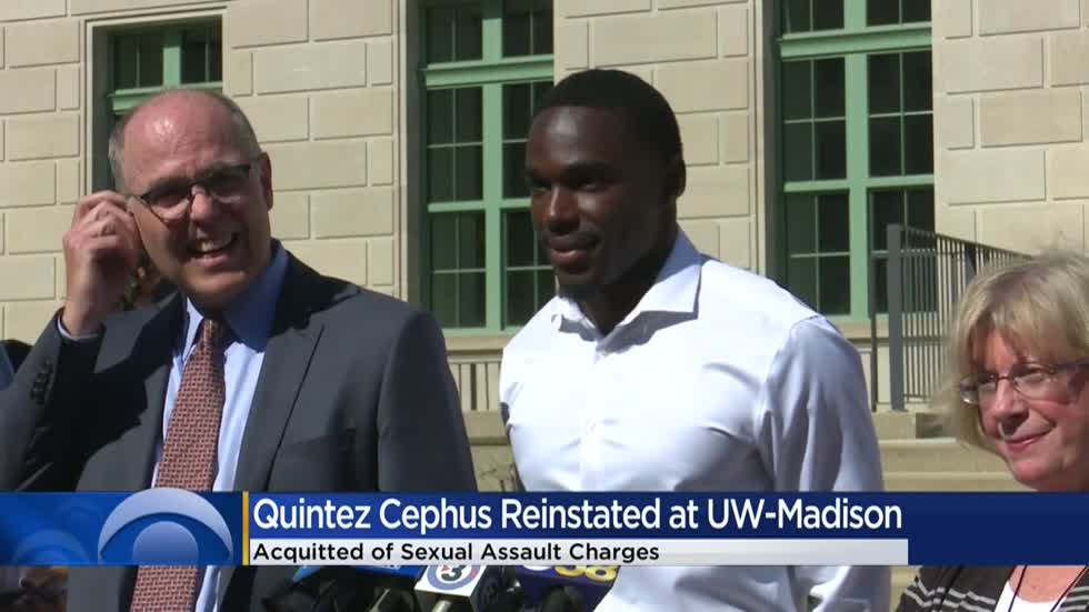 UW-Madison reinstates Cephus after sexual assault acquittal