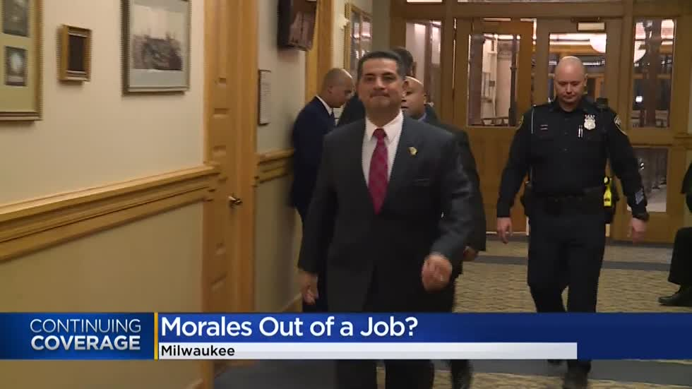 'I want him to stay:' Mayor Barrett denies rumors that he will replace Chief Morales