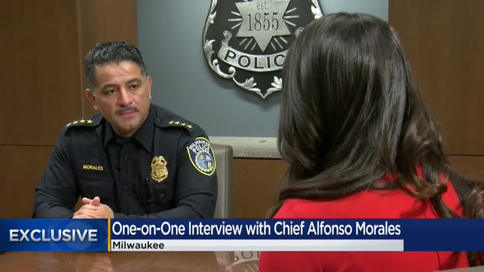 CBS 58 Exclusive: Milwaukee Police Chief Morales talks about his future