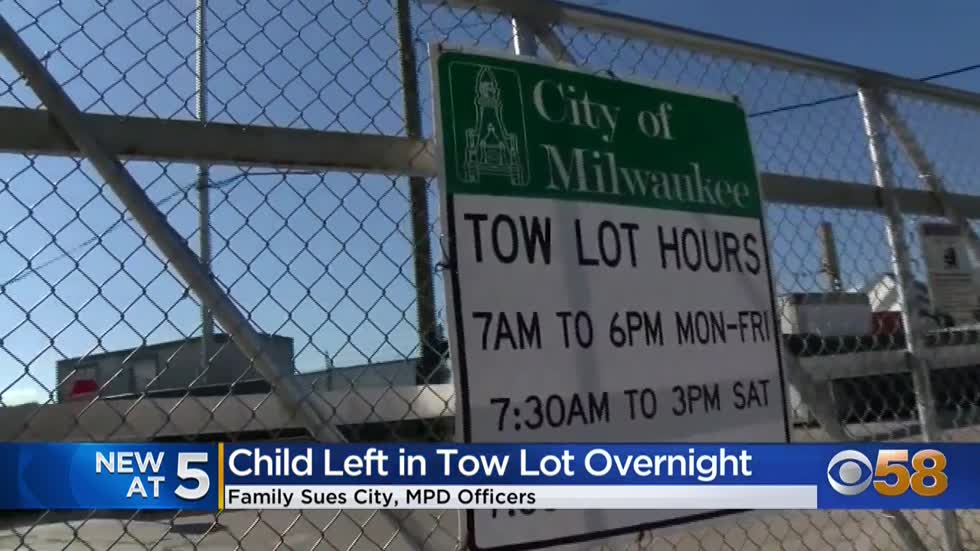 'Left... overnight in freezing conditions': Family of child plans to sue the city of Milwaukee