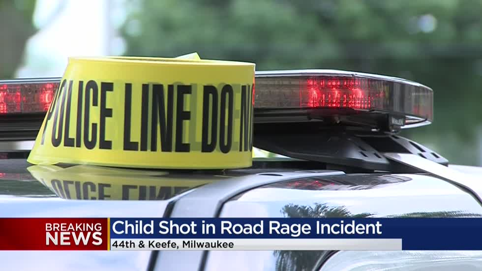 Milwaukee Police: 5-year-old shot in the leg during apparent road rage incident