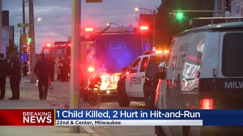 6-year-old girl killed, 2 children seriously injured in hit-and-run at 22nd and Center