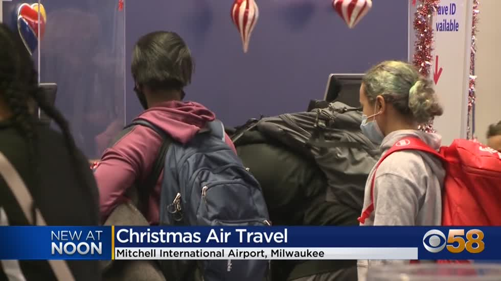 Mitchell International Airport sees less air travel this holiday season