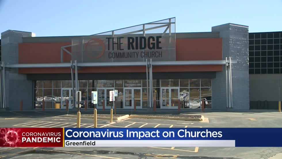 """Everybody's best interest:"" Local churches make changes, cancel in-person services due to COVID-19"