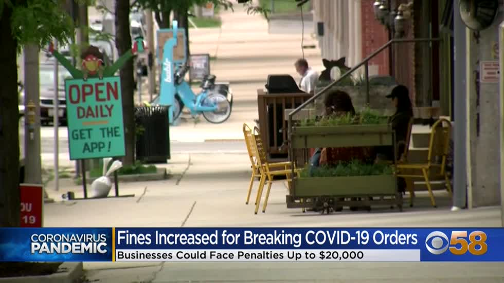Ordinance to increase fines up to $5,000 for Milwaukee businesses violating COVID-19 orders moves forward