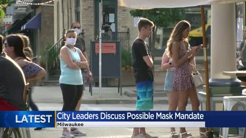 Health commissioner says mask mandate is needed in Milwaukee...
