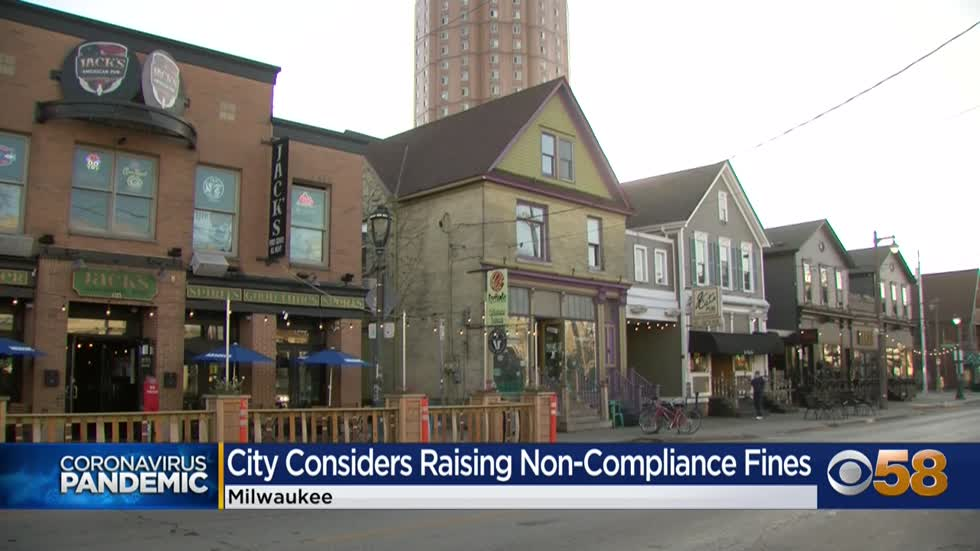 City of Milwaukee considers raising non-compliance fines for bars, restaurants