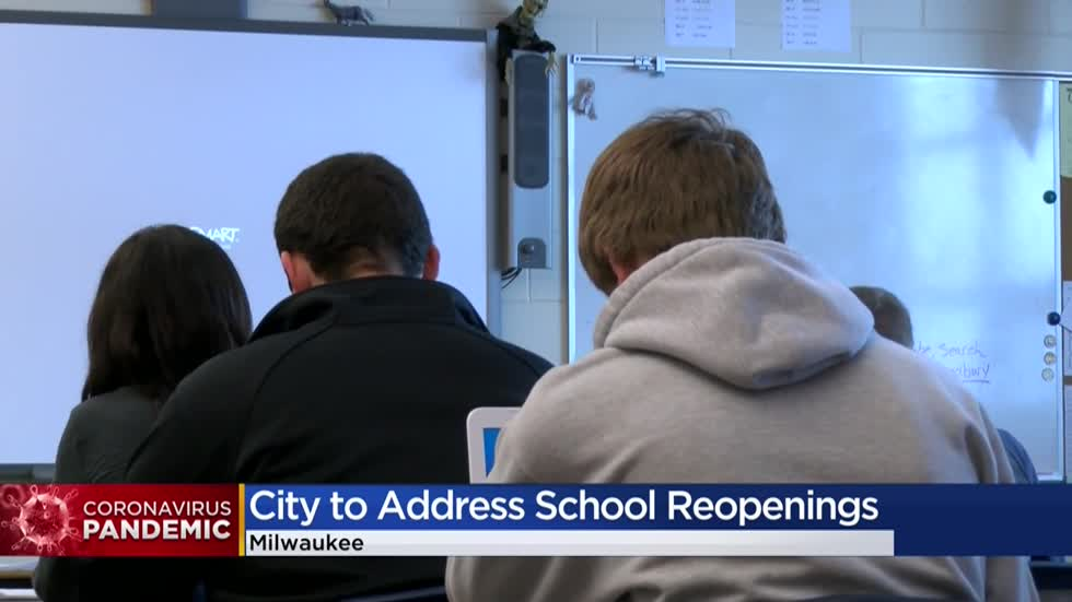 Milwaukee Health Department to issue new order that would allow schools to reopen with approved plan