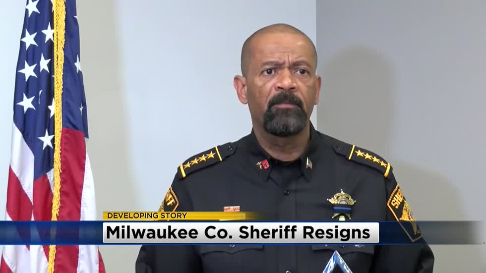 Milwaukee County Sheriff David Clarke submits resignation