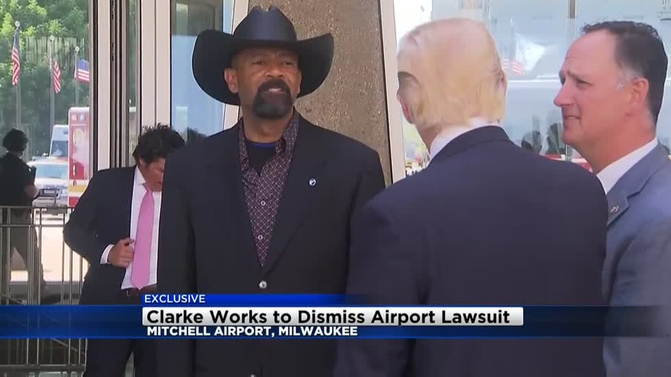 Former Sheriff Clarke wants judge to dismiss lawsuit filed against him in February