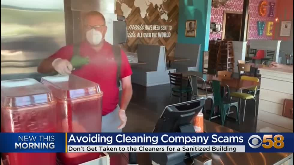How to avoid fraudulent cleaning, disinfection companies