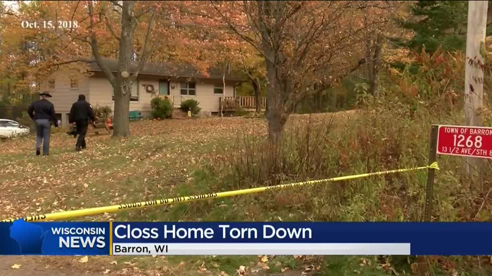 House where girl was kidnapped, parents killed is torn down