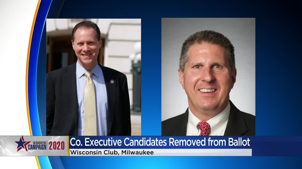 State disqualifies 2 candidates running for Milwaukee County Executive