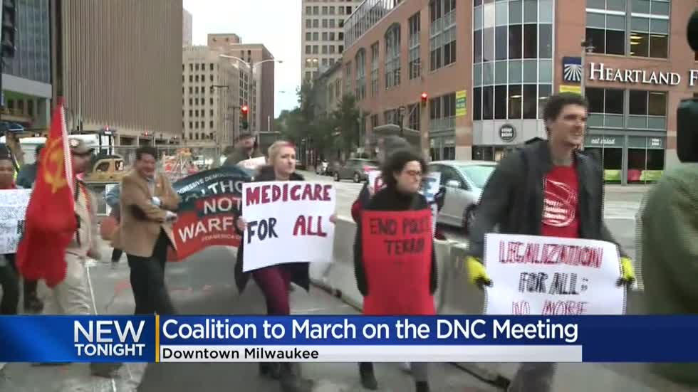 Coalition to March on the DNC asks for permit to peacefully assemble