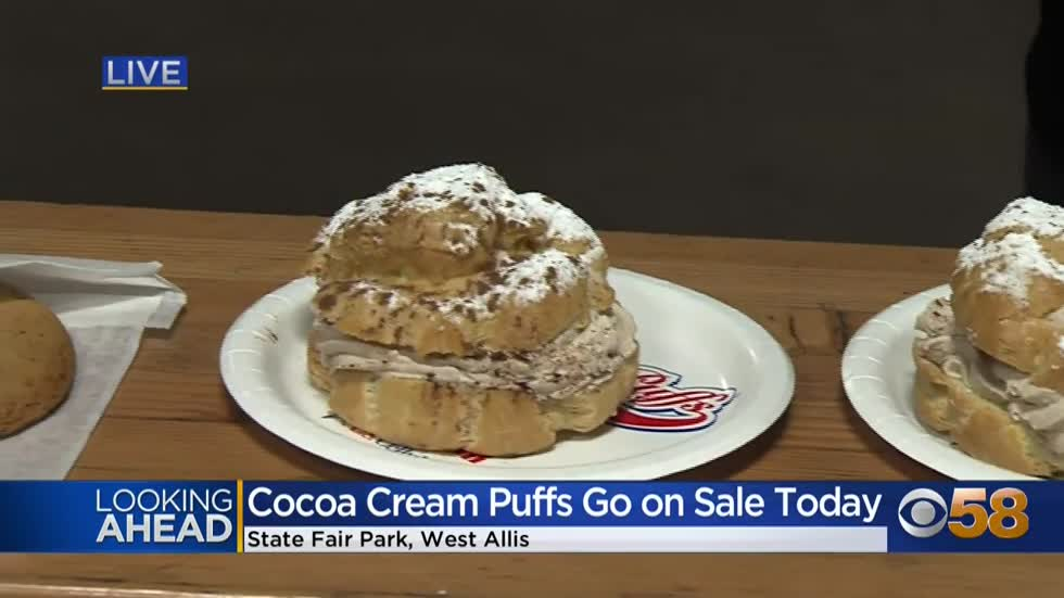 Cocoa Cream Puffs get a run this weekend at the Wisconsin State Fairgrounds
