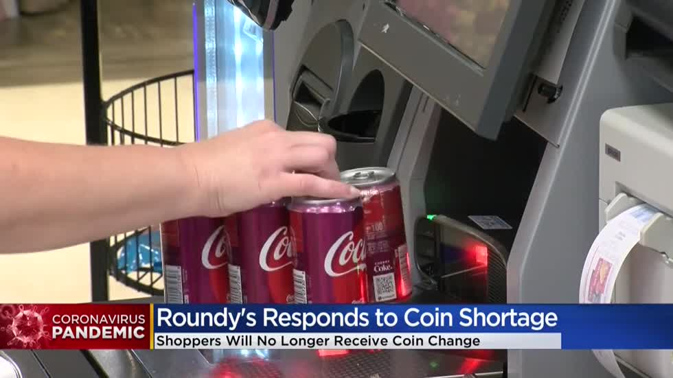 Pick 'n Save, Metro Market will stop giving coin change in manned checkout lanes due to national coin shortage