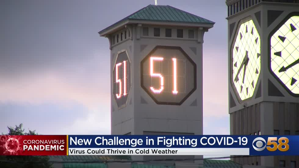 Doctors say cold weather brings number of problems in combating COVID-19 as cases continue to surge