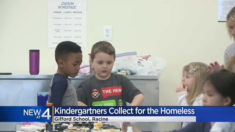 Students celebrate 100 days of school making care packages for the homeless