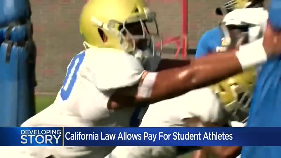 Wisconsin university officials react to California law allowing student athlete compensation
