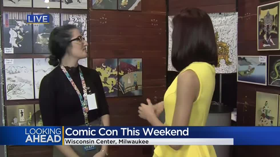Comic book fans gather in Milwaukee for the Wisconsin Comic Convention