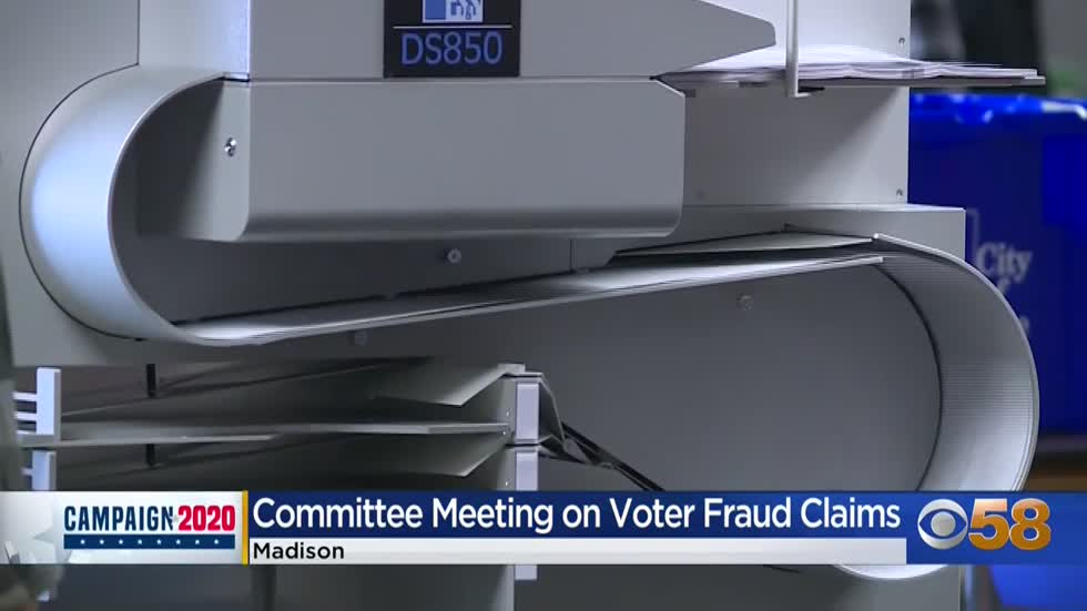 Democrats walk out of Republican-led hearing aimed at investigating potential voter fraud