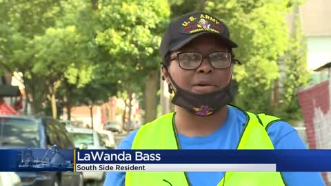 South Milwaukee resident organizes community clean-up days with granddaughter
