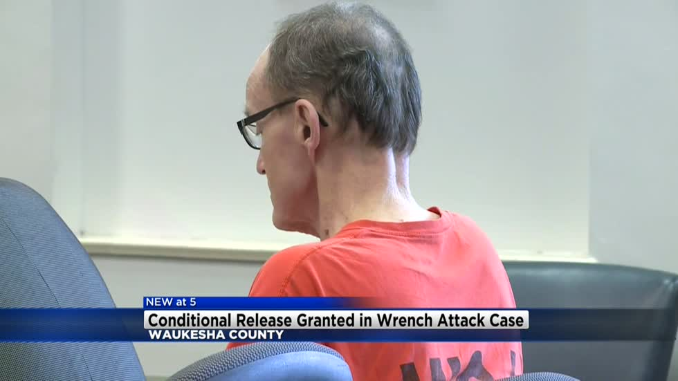 Waukesha man accused of beating wife with wrench granted conditional release