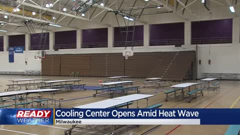 Milwaukee cooling center open amid heat wave, taking coronavirus...