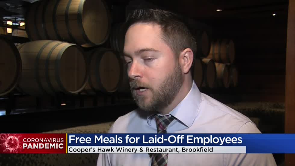 'Part of a family:' Cooper's Hawk Winery & Restaurant providing free meals for laid-off workers