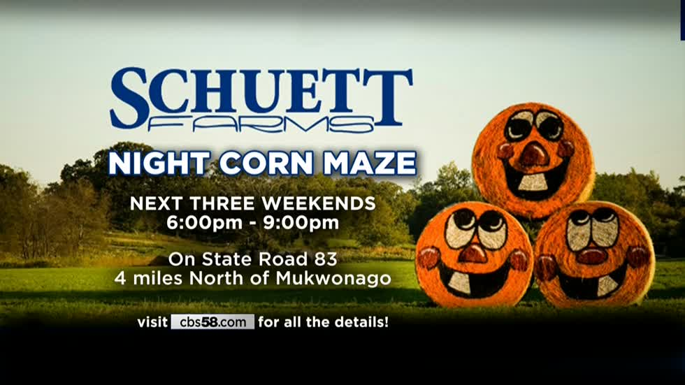 Night maze at Schuett Farms near Mukwonago is bound to scare up a good time for you