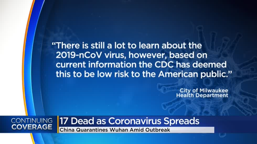Officials: American public at low risk of catching coronavirus