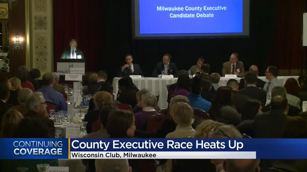 Candidates for Milwaukee County Executive go head-to-head in debate