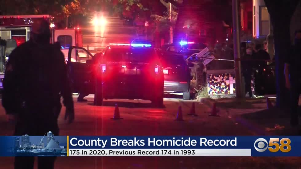 Milwaukee County homicide rate exceeds highest level since 1993