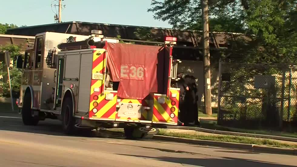 UPDATE: One taken to hospital after fire at Milwaukee business